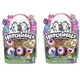 Hatchimals CollEGGtibles Season 2 - 4 pack + Bonus Bundle of TWO - Find the Golden Hatchimal!