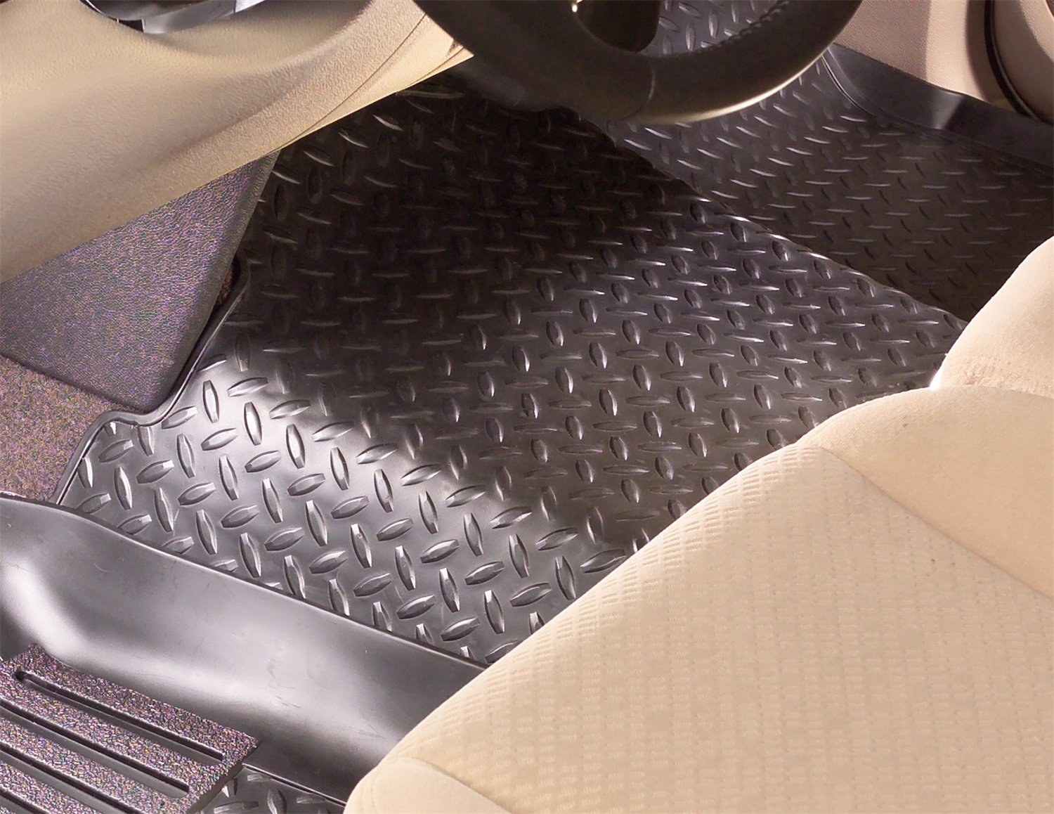 Husky Liners 2nd Seat Floor Liner Fits 99-07 F250//F350 SuperCab Winfield Consumer Products 63873