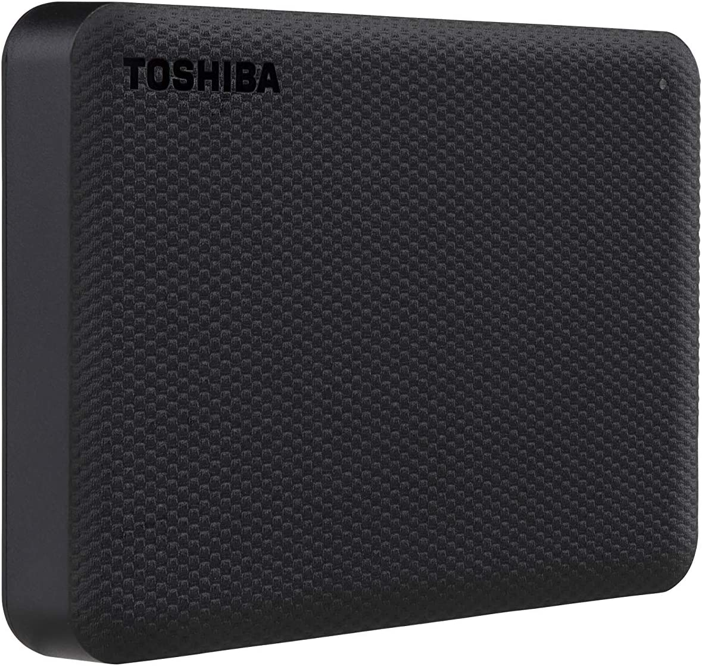 Toshiba Canvio Advance 4TB Portable External Hard Drive USB 3.0, Black - HDTCA40XK3CA