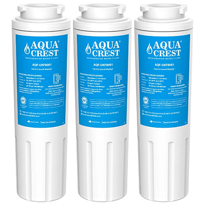 Details about 3 Pack Refrigerator Water Filter Replacement for Jenn Air  JFC2089HPY