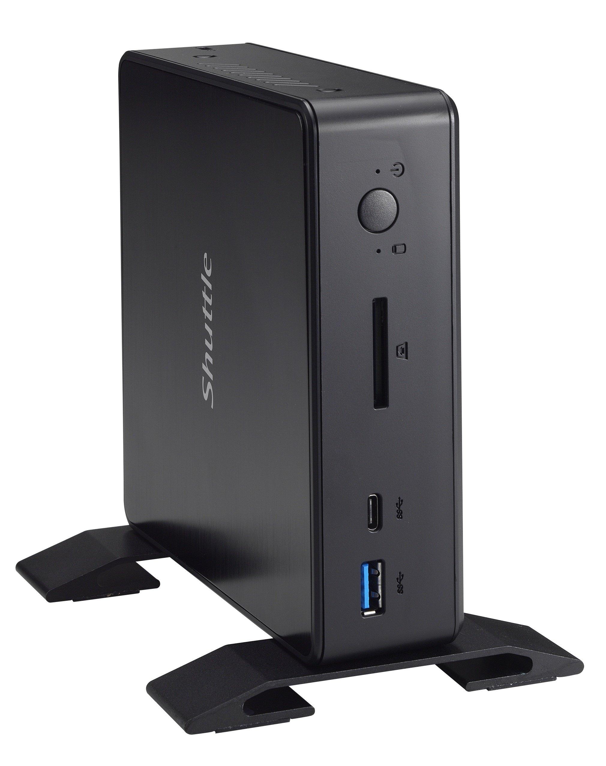Shuttle XPC Nano NC02U7 Intel Skylake-U i5-6200U Mini Barebone PC, Support 4K HD Video, Dual-channel DDR3L Max 32GB