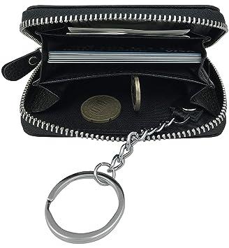 PRIME 3in1 Cadena Clave Bolsillo para llaves Cuero Cartera ...