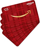 Amazon.com $25 Gift Card- Pack of 5 Cards