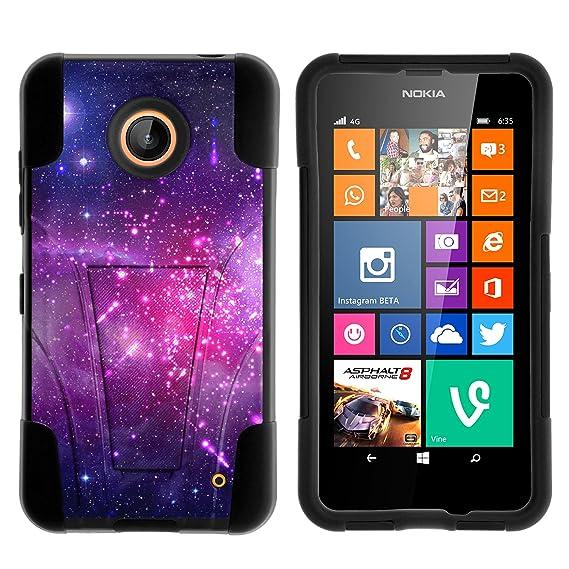 the best attitude 10dd5 4e0ea Nokia Lumia 635 Case, Nokia Lumia 630 Case, Durable Hybrid STRIKE Impact  Kickstand Case with Art Pattern Designs for Nokia Lumia 635, 630 (AT&T, ...