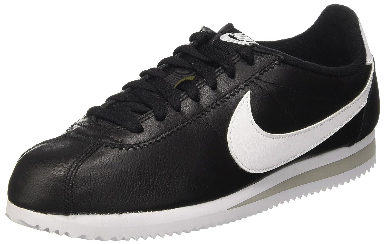 Black   White   Grey (Black   White-neutral Grey) Nike Men's Classic Cortez Prem Running shoes