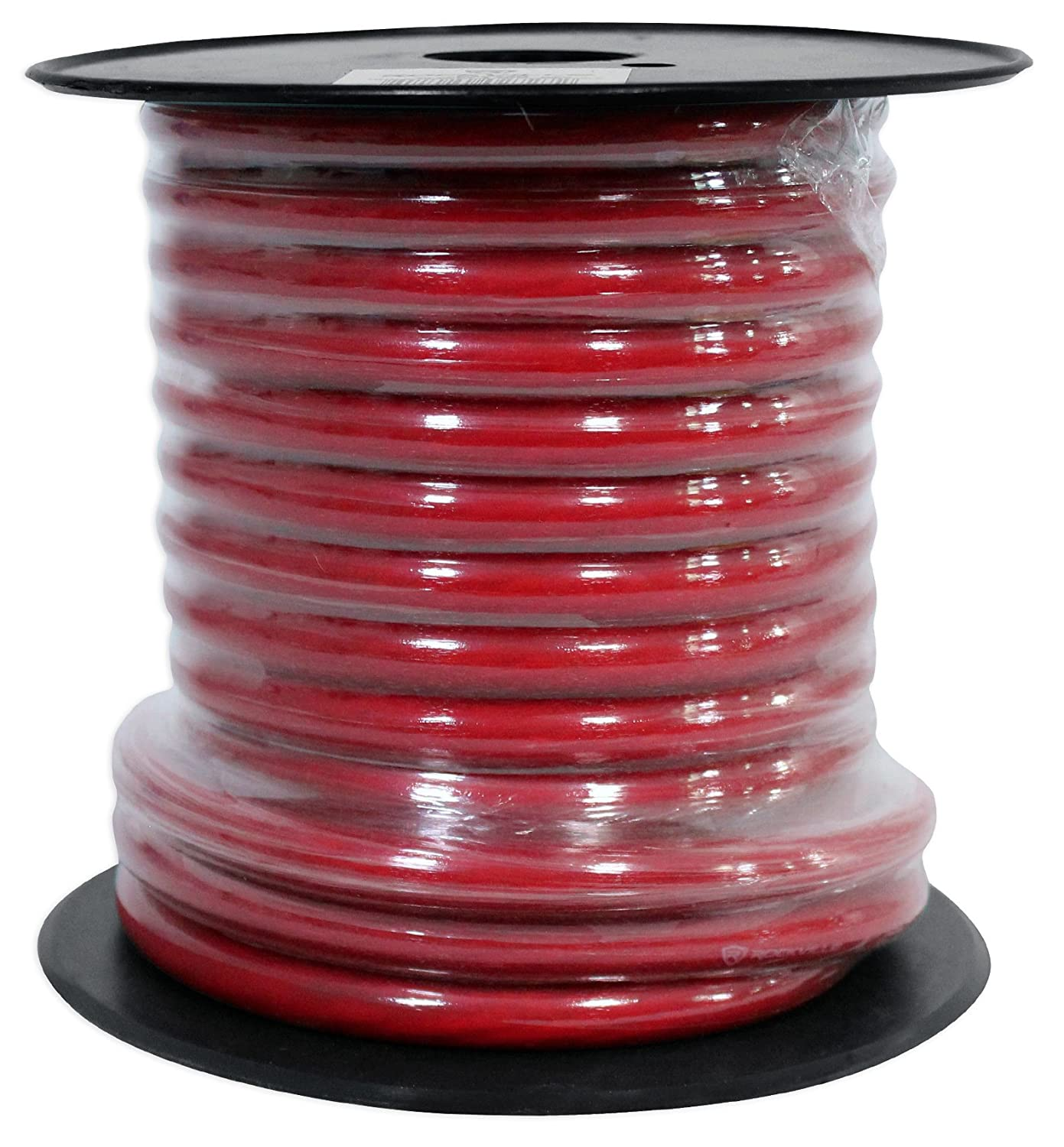 Mini Spool Car Audio Speaker Wire Rockville R14GSBR50 Red//Blk 14 Gauge 50 Ft