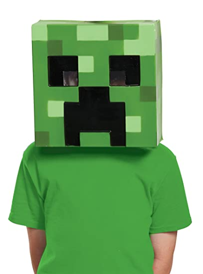 Disguise Creeper Minecraft Child Mask