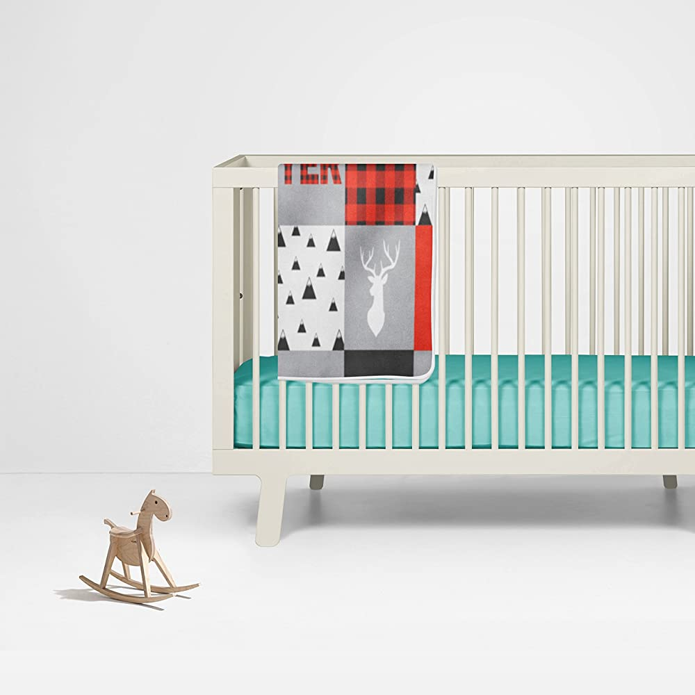 Amazon.com: Buffalo Plaid – Manta de bebé personalizado ...
