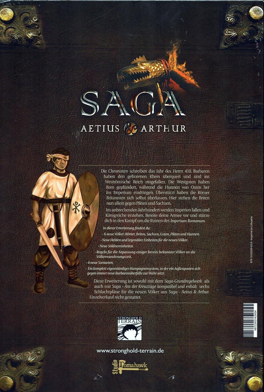 Stronghold Terrain Gripping Beast Studio Tomahawk SAGA: Aetius /& Arthur DE
