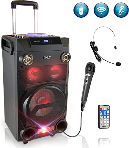 Pyle Outdoor Portable Wireless Bluetooth Karaoke