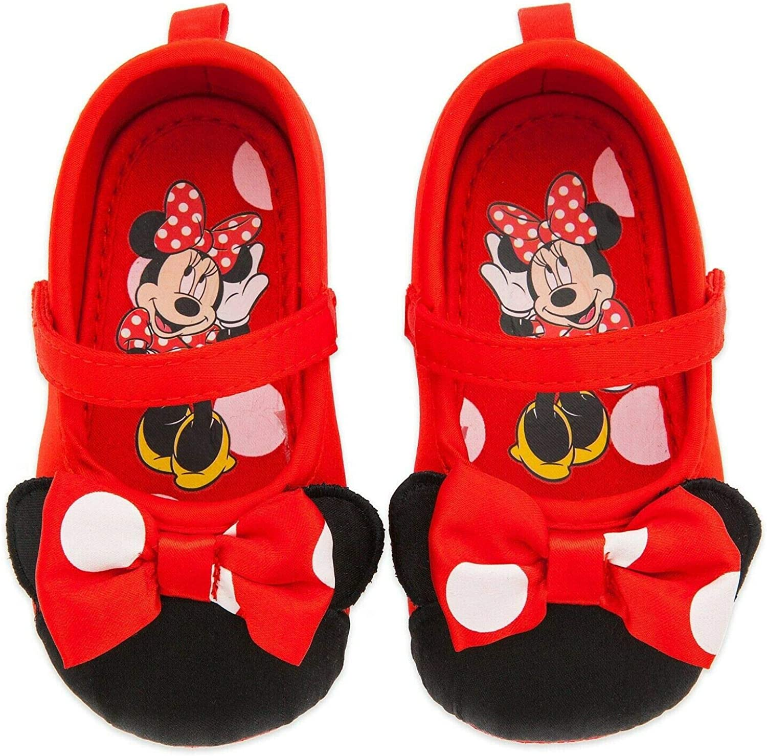 Disney Store Minnie Mouse Red Polka Dot
