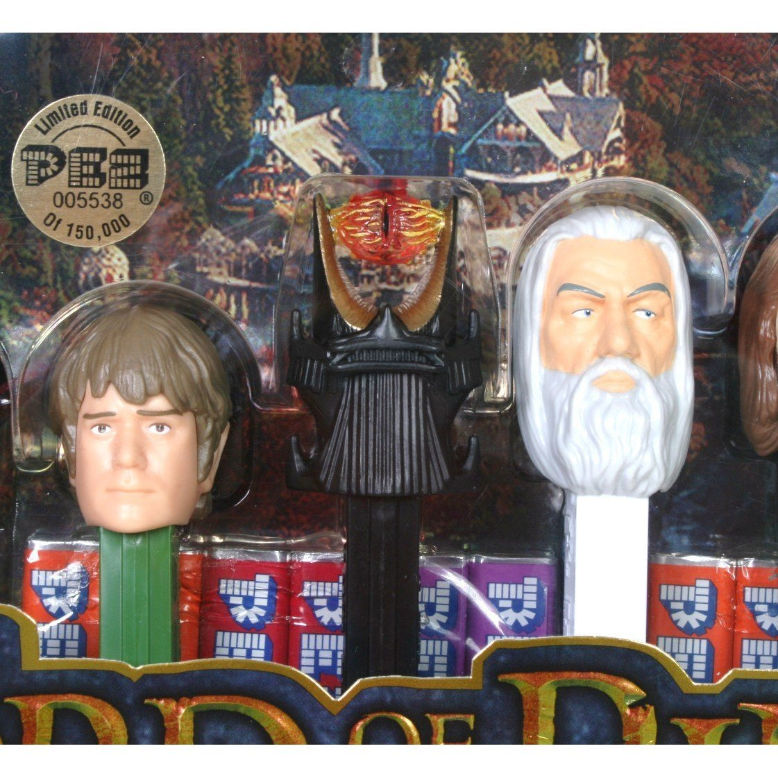 The Lord Of The Rings Limited Edition Eye Of Sauron Pez Collectors Series Dispensers Pez Candy Pez Candy The Lord Of The Rings