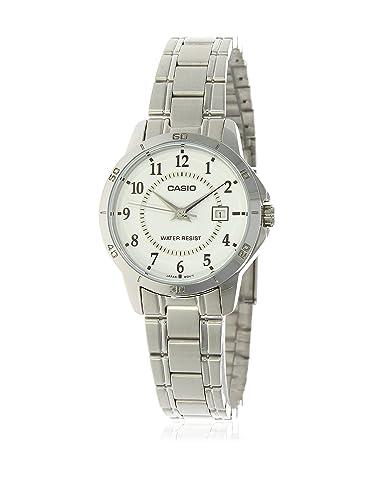 91fb3cfbbd79 CASIO Reloj con Movimiento Cuarzo japonés LTP-V004D-7  Amazon.es  Relojes