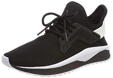 Puma Tsugi Cage Jr, Sneakers Basses Mixte Enfant, Noir Black Black, 38 EU