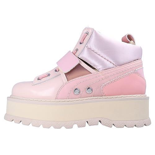 Fenty PUMA by Rihanna Sneaker Boot Strap Womens para Mujer Zapatillas Rosa, Tamaño:42: Amazon.es: Zapatos y complementos