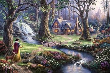 Amazon.com: Idalith Burgos Thomas Kinkade Snow White ...