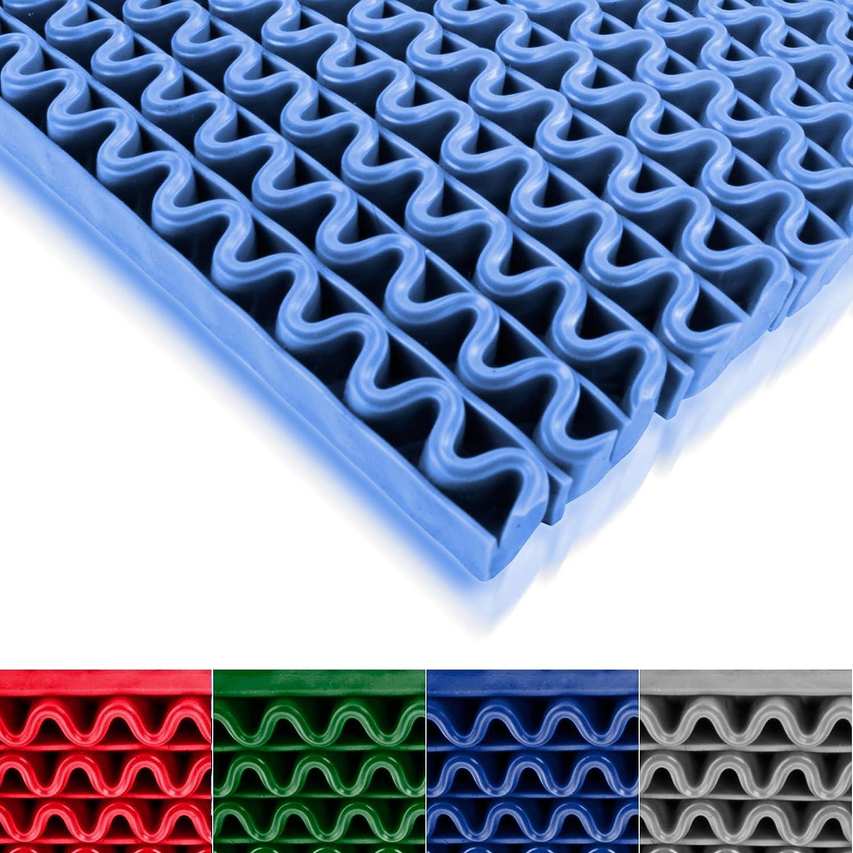 Hygienematte Anti-Slip Blau Gr/ö/ße 120 x 500 cm f/ür Nassbereiche wie Schwimmb/äder Duschr/äume Sauna stark rutschhemmend viele Gr/ö/ßen