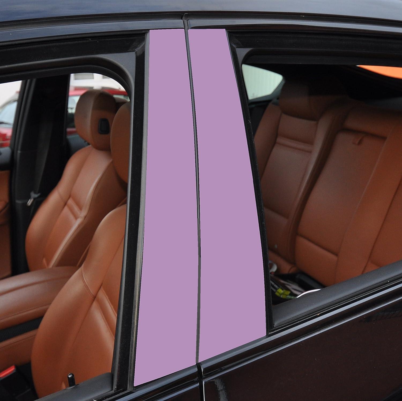 geben Sie Ihrem Fahrzeug kosteng/ünstig ein sportlichen Touch 6x matt schwarz T/ürzierleisten Verkleidung B S/äule T/ürs/äule passend f/ür Ihr Fahrzeug