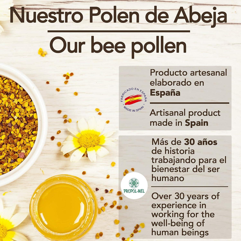 1 kg - Polen de España 100% natural. Polen de abeja libre de residuos. Polen fuente de proteinas, aminoácidos, lípidos, vitaminas y minerales.: Amazon.es: Alimentación y bebidas