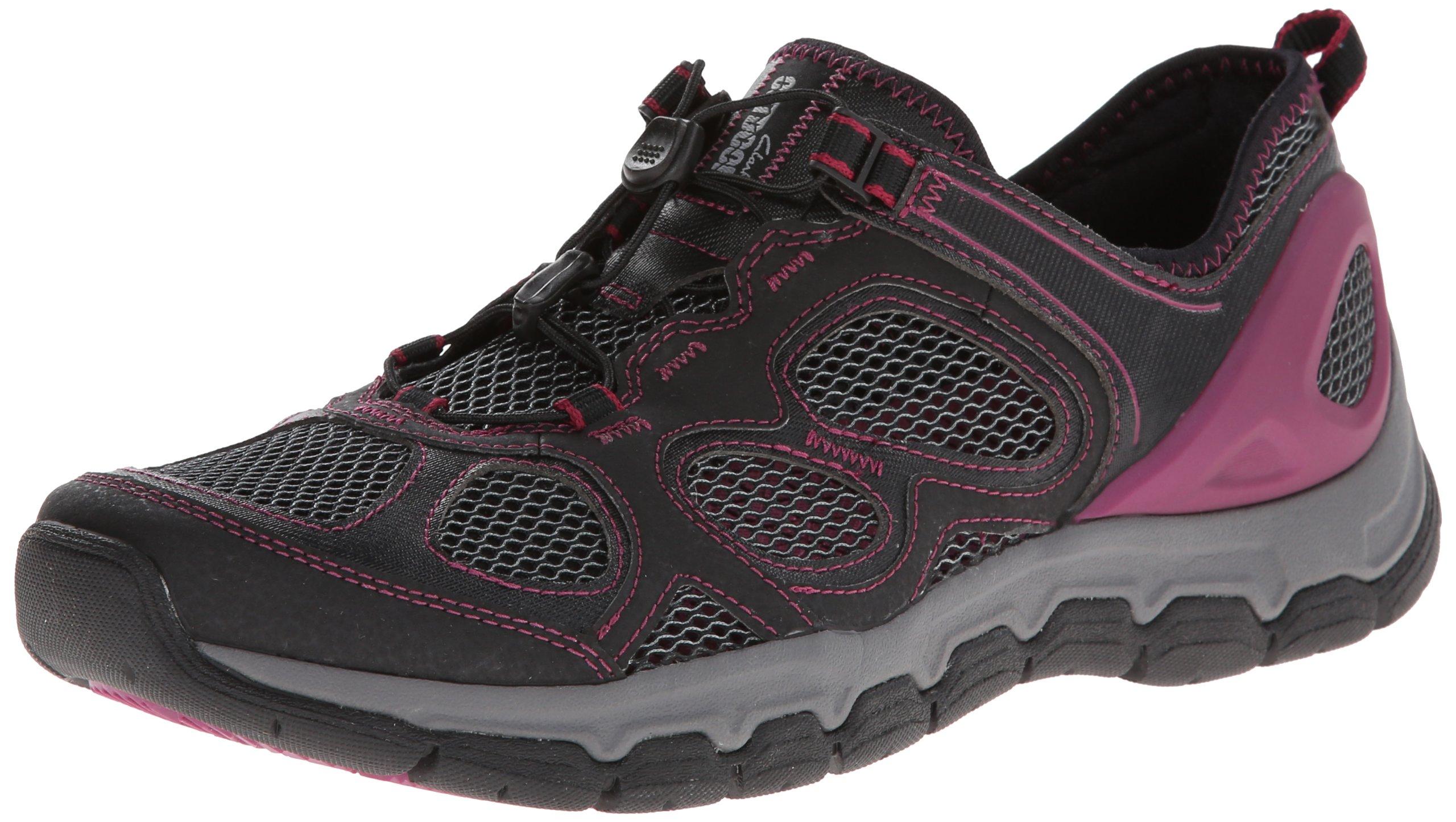 Clarks Women's Inframe Ease Water Shoe,Black,8 M US