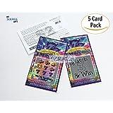 Pregnancy Announcement Jackpot Scratch Off Pregnancy Reveal Fake Lottery Scratcher Lotto Replica Card, Ea Ticket Winner Revealing Winner! We're Expecting! 5 tickets My Scratch Offs