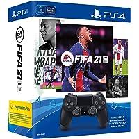 Sony DUALSHOCK 4 Wireless Controller EA SPORTS FIFA 21 Voucher BundlePlayStation 4