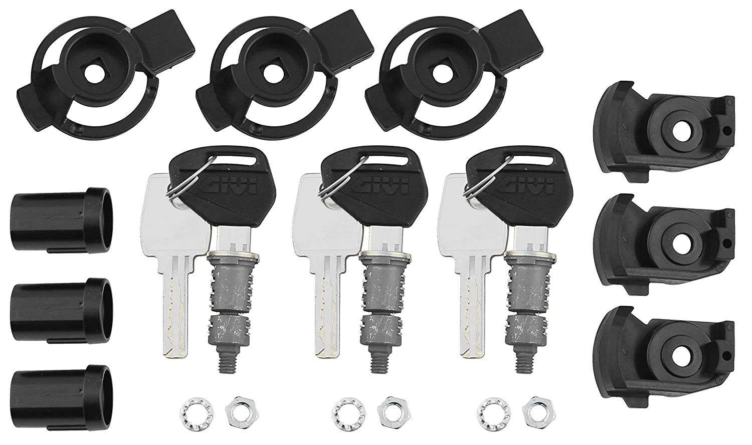Givi SL103 security lock set (3 locks)