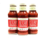 Pack of 3 - Primal Kitchen - Organic Unsweetened Ketchup - Non GMO - Vegan - Gluten Free Whole 30 Approved (Frustration Free