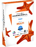 Hammermill Paper, Inkjet Multipurpose Paper, 8.5 x 11 Paper, Letter Size, 20lb Paper, 96 Bright, 1 Ream / 500 Sheets (105050R) Acid Free Paper