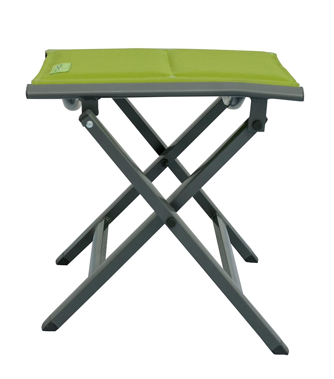 Meerweh Luxus Camping Klapphocker Repose-Pied Mixte