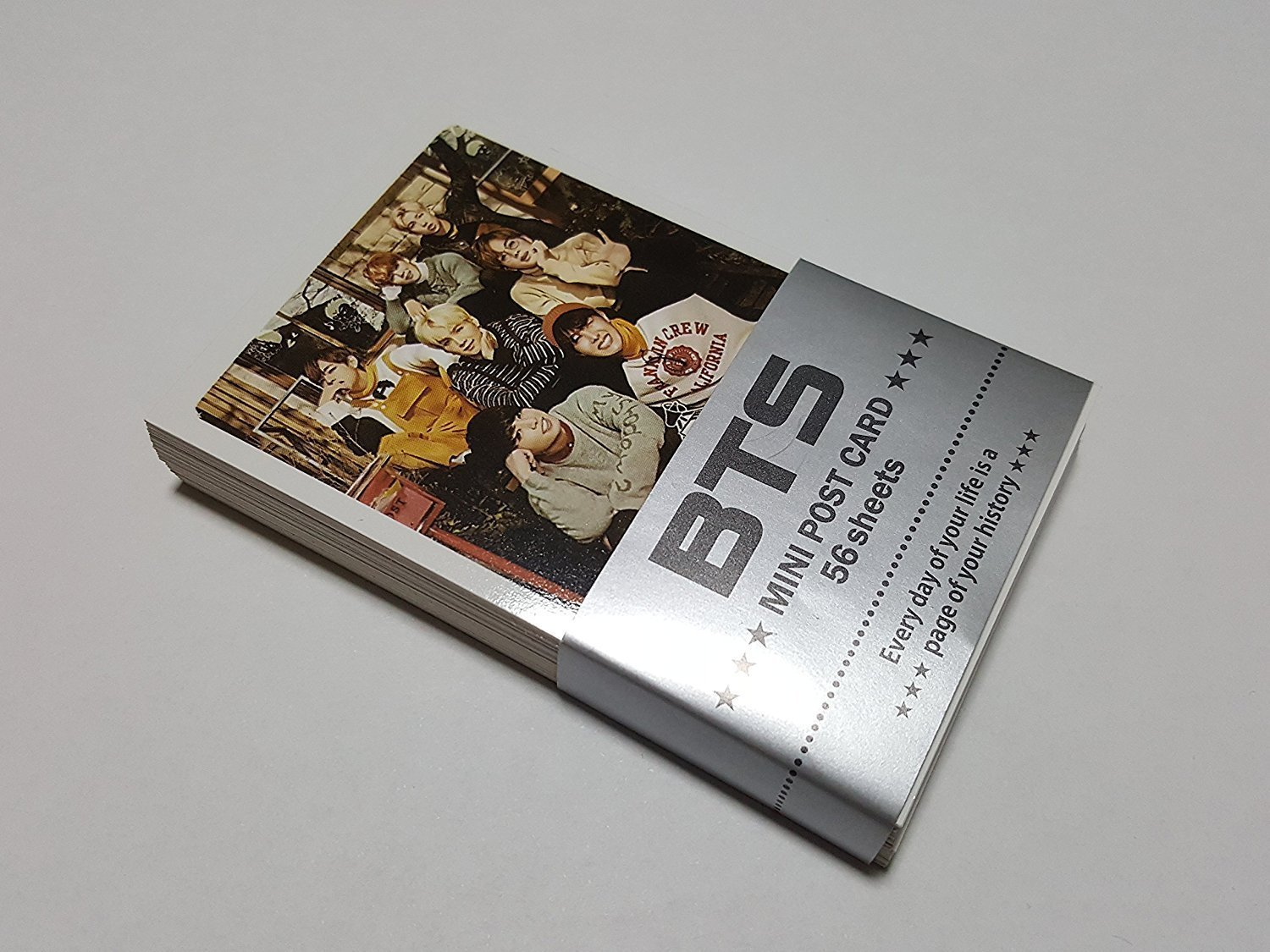 BTS BANGTAN BOYS - MINI POSTCARD PHOTOCARD SET 56pcs