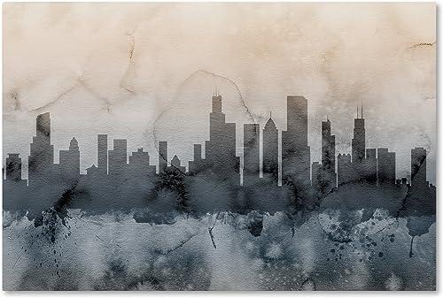Chicago Illinois Skyline V