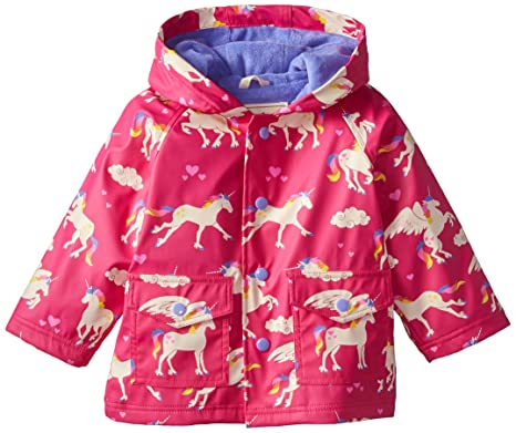 1290b11f35f7 Hatley Baby Girls 0-24m Unicorns   Rainbows Raincoat