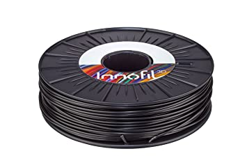 Innofil3D ABS 3D Printer Filament - Dimensional Accuracy +/- 0.05, 750g spool, Black - Consistent Shape and Diameter, Strong Adhesion Between Layers, ...
