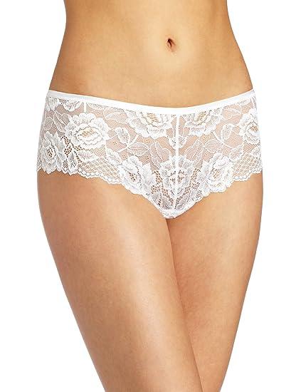 9d356b549af4 Felina Women's Lush Lace Cheeky Boy Panty at Amazon Women's Clothing store:  Boy Shorts Panties