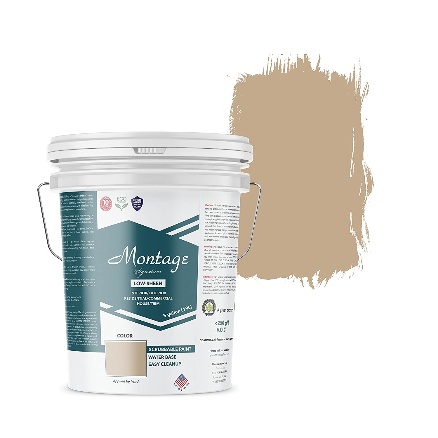 Montage Signature Interior Exterior Eco Friendly Paint Suede Low