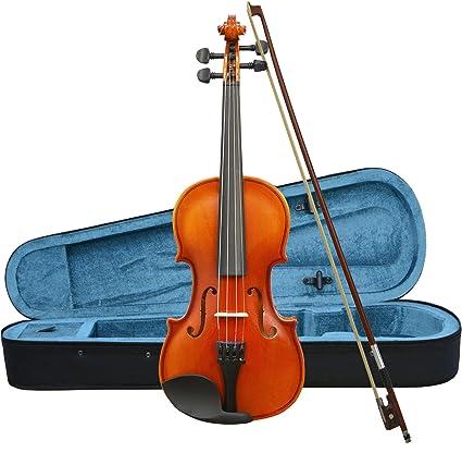 Forenza F1151f Uno Serie Violon Avec Housse 1 4 Marron Amazon Fr Instruments De Musique