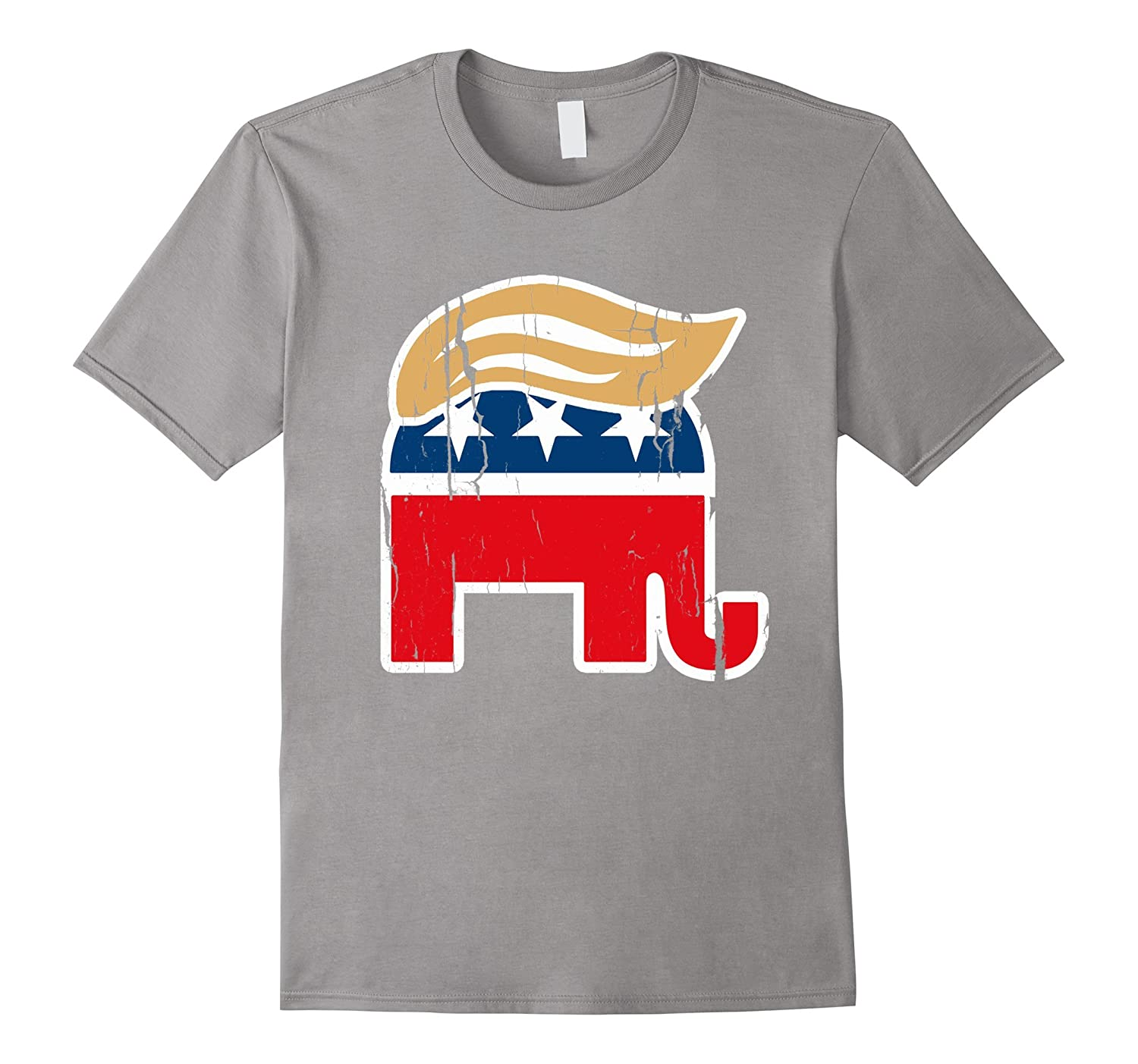 ORIGINAL AUTHENTIC Donald Trump Elephant T-shirt Shirt-CD