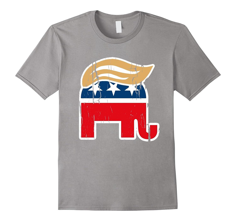 ORIGINAL AUTHENTIC Donald Trump Elephant T-shirt Shirt-CD