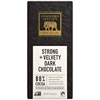 Deals on 24 Pack Endangered Species Panther, Dark Chocolate 3 Ounce Bars