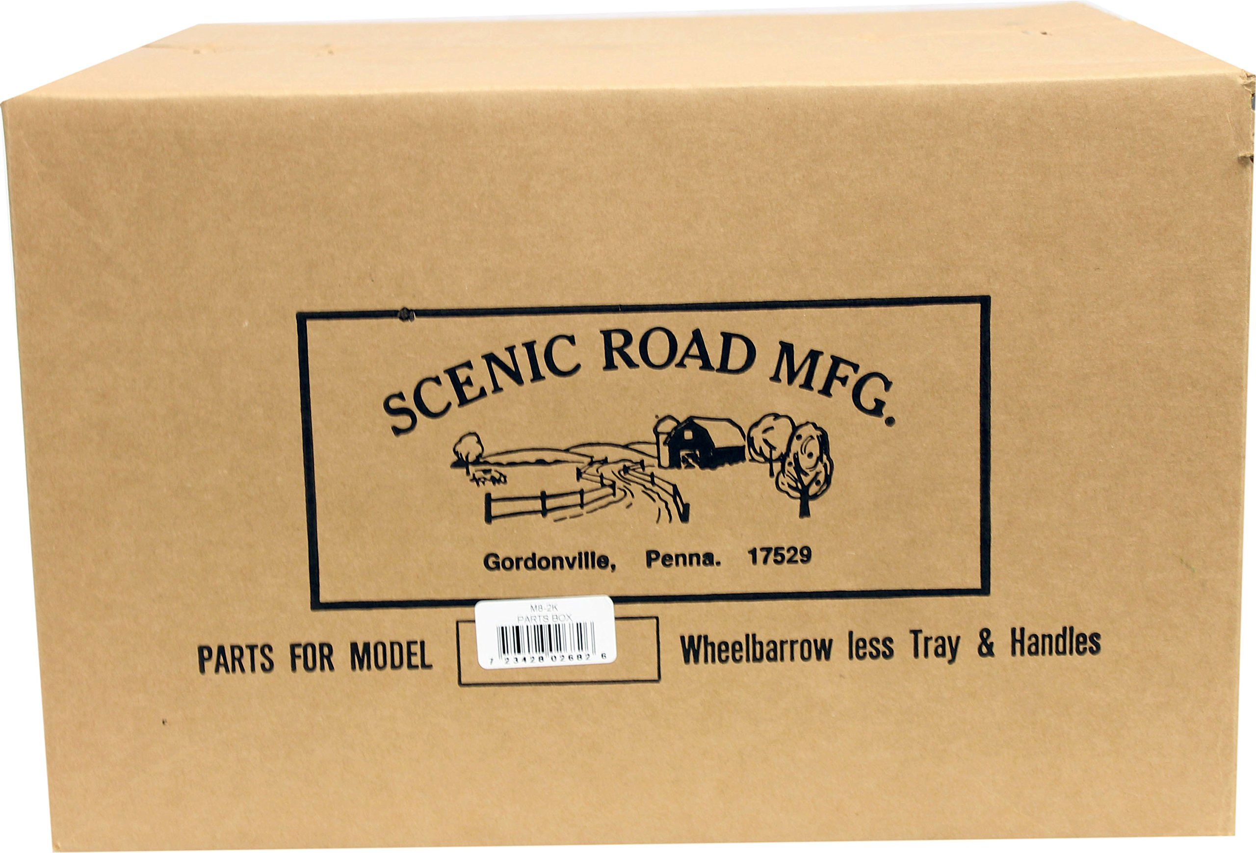 SCENIC ROAD PARTS BOX M8-2K Wheelbarrow