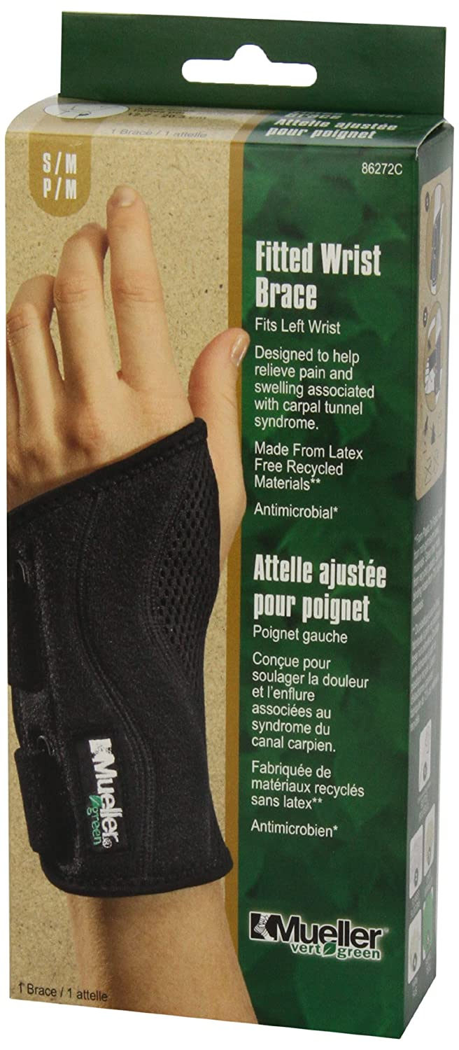 Motorcycle gloves carpal tunnel syndrome - Amazon Com Mueller Fitted Wrist Left Black Small Medium Health Personal Care