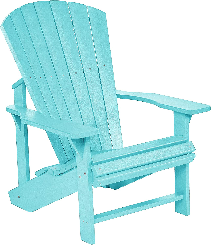 Turquoise Plastic Products CRP Generations Classic Adirondack C.R