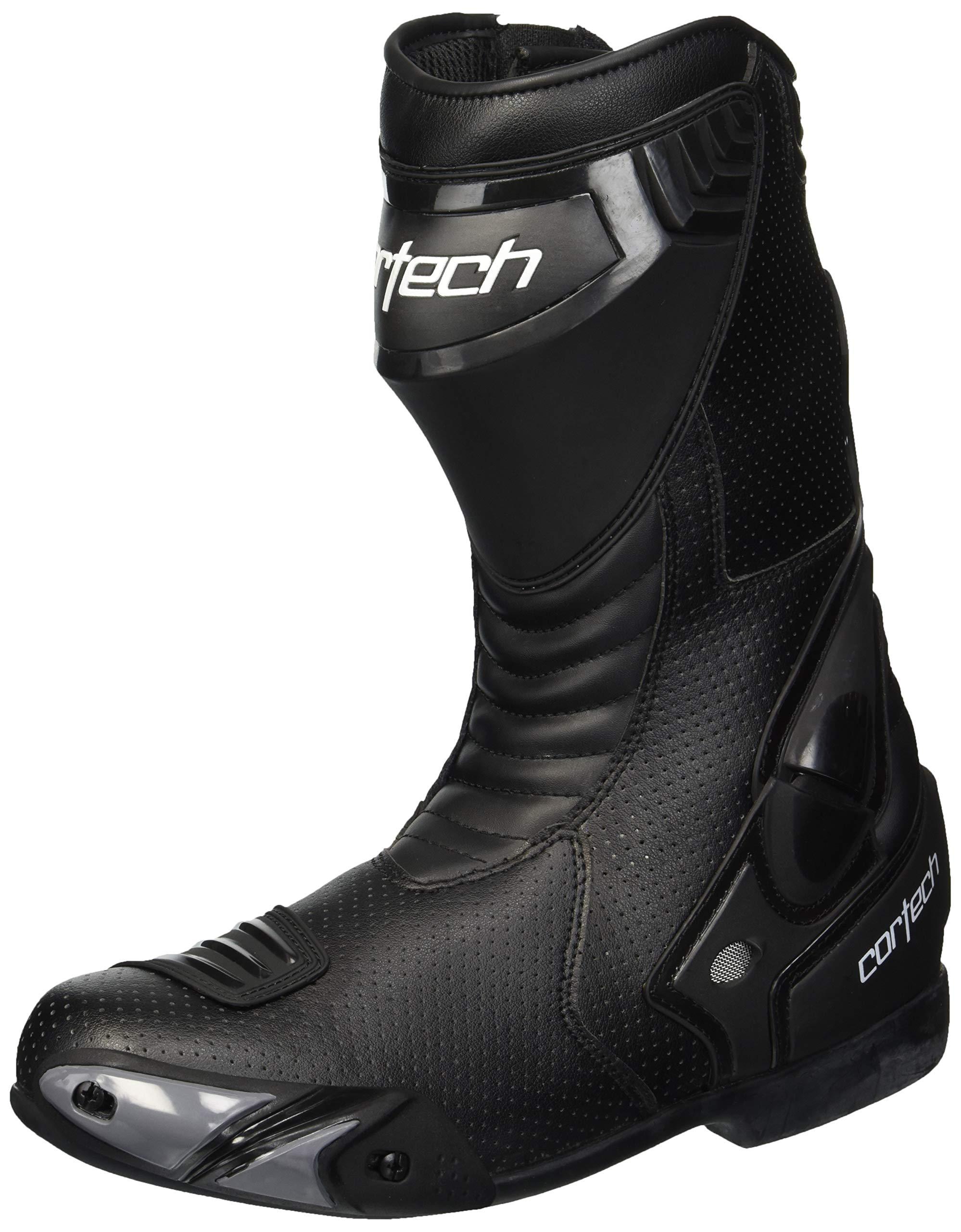 Cortech Men's Latigo Air Road Race Boot (Black, Size 11)