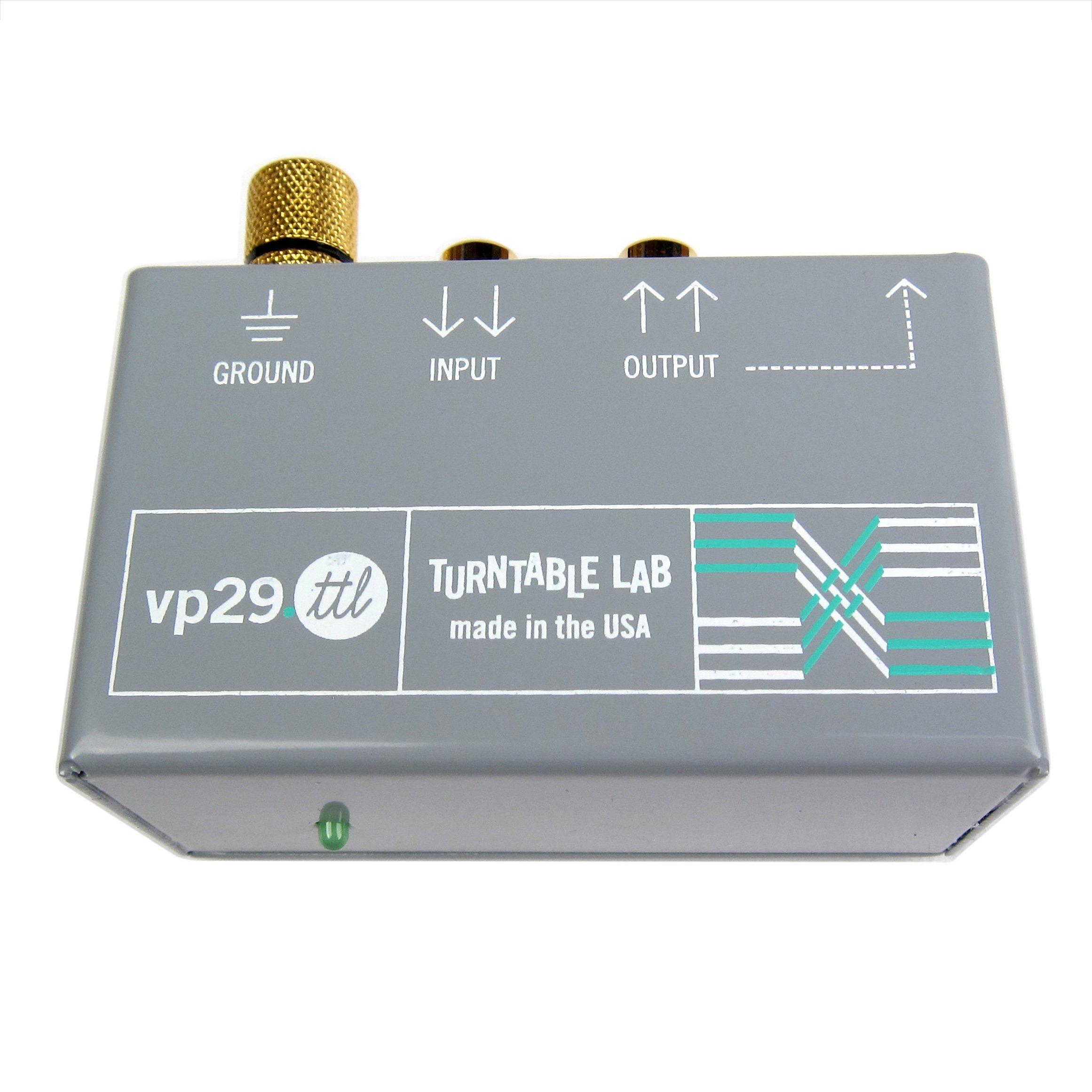 Turntable Lab: Rolls VP 29.TTL Phono Preamp - Turntable Lab Edition by Turntable Lab