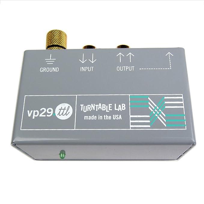 Tocadiscos Lab: Rolls VP 29.TTL Phono Preamp: Amazon.es: Electrónica