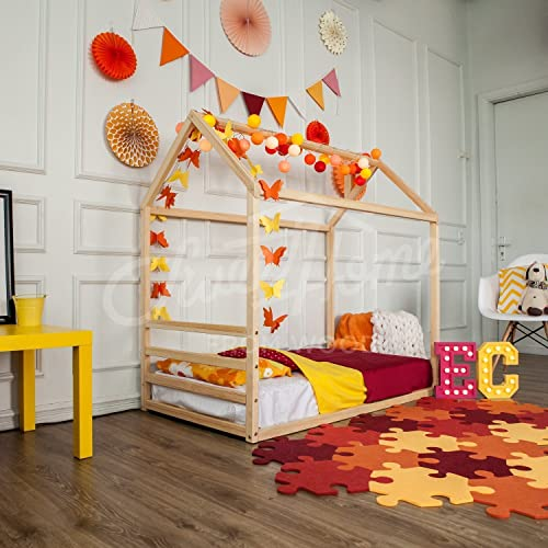 Amazon Com Children House Bed Frame Bed Children Furniture