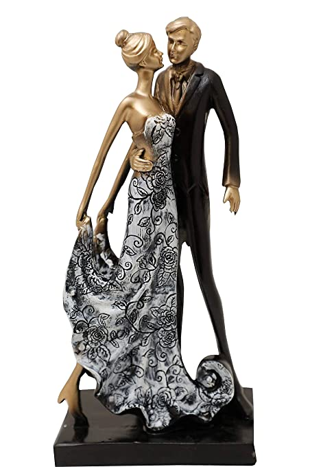 Buy Aica Gifts Designer Romantic Love Couple Showpiece Statue Gift
