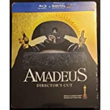 AMADEUS Blu-ray Steelbook (Limited Edition REGION-FREE Import)