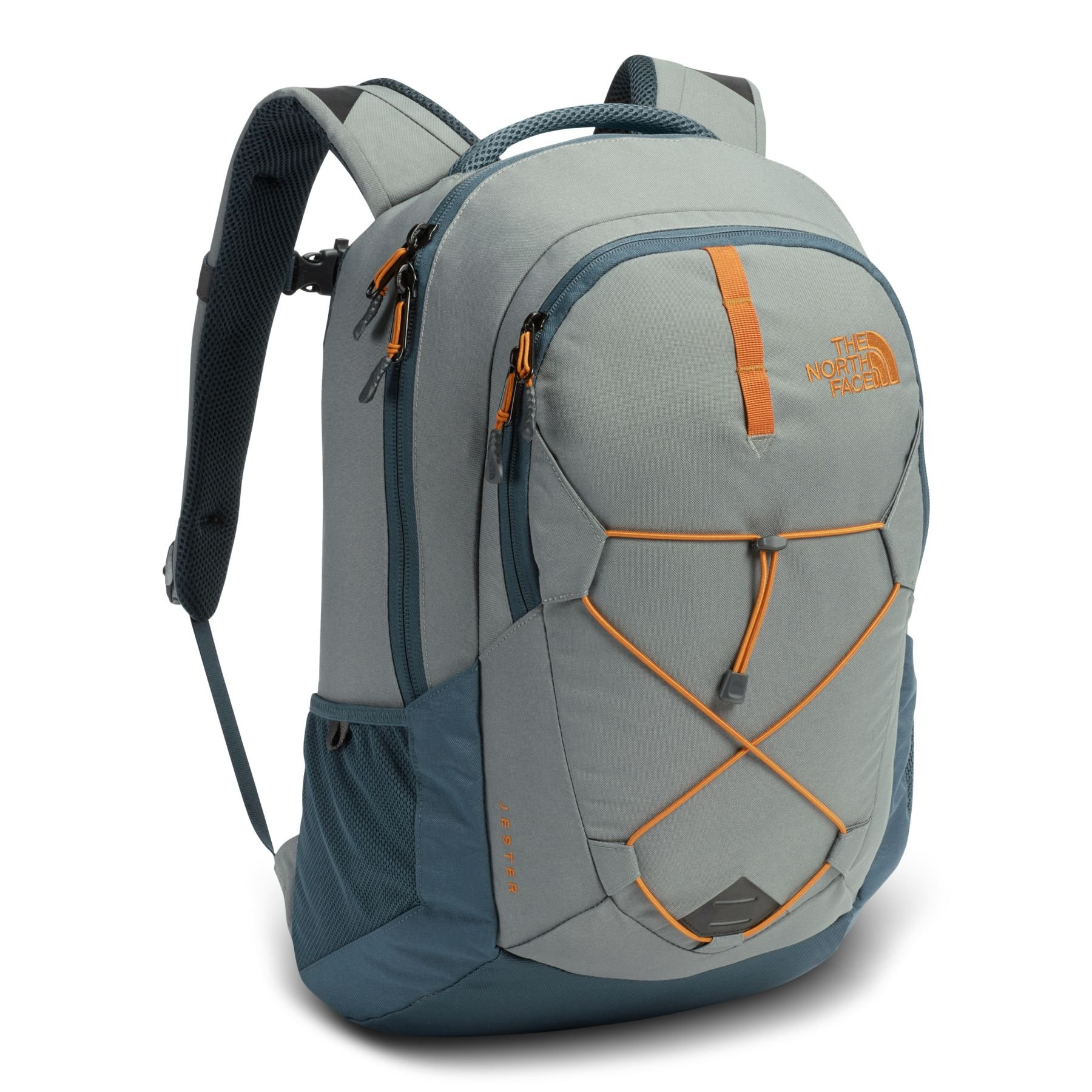 The North Face Jester Backpack - Sedona Sage Grey & Conquer Blue - OS (Past Season)